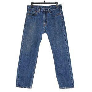 Levi's 505 W36 L32 Regular Fit Medium Wash Jeans